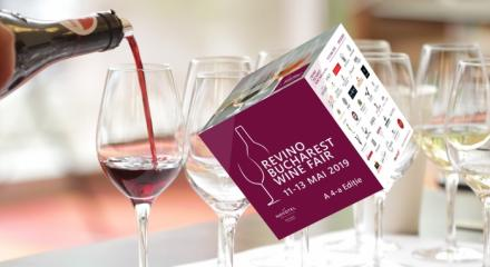 ReVino Bucharest Wine Fair, 11-13 May 2019,  4th Edition