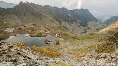 Transfagarasan, one of the most famous roads in Romania