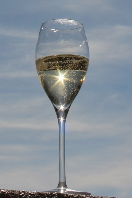 Sparkling wine cup