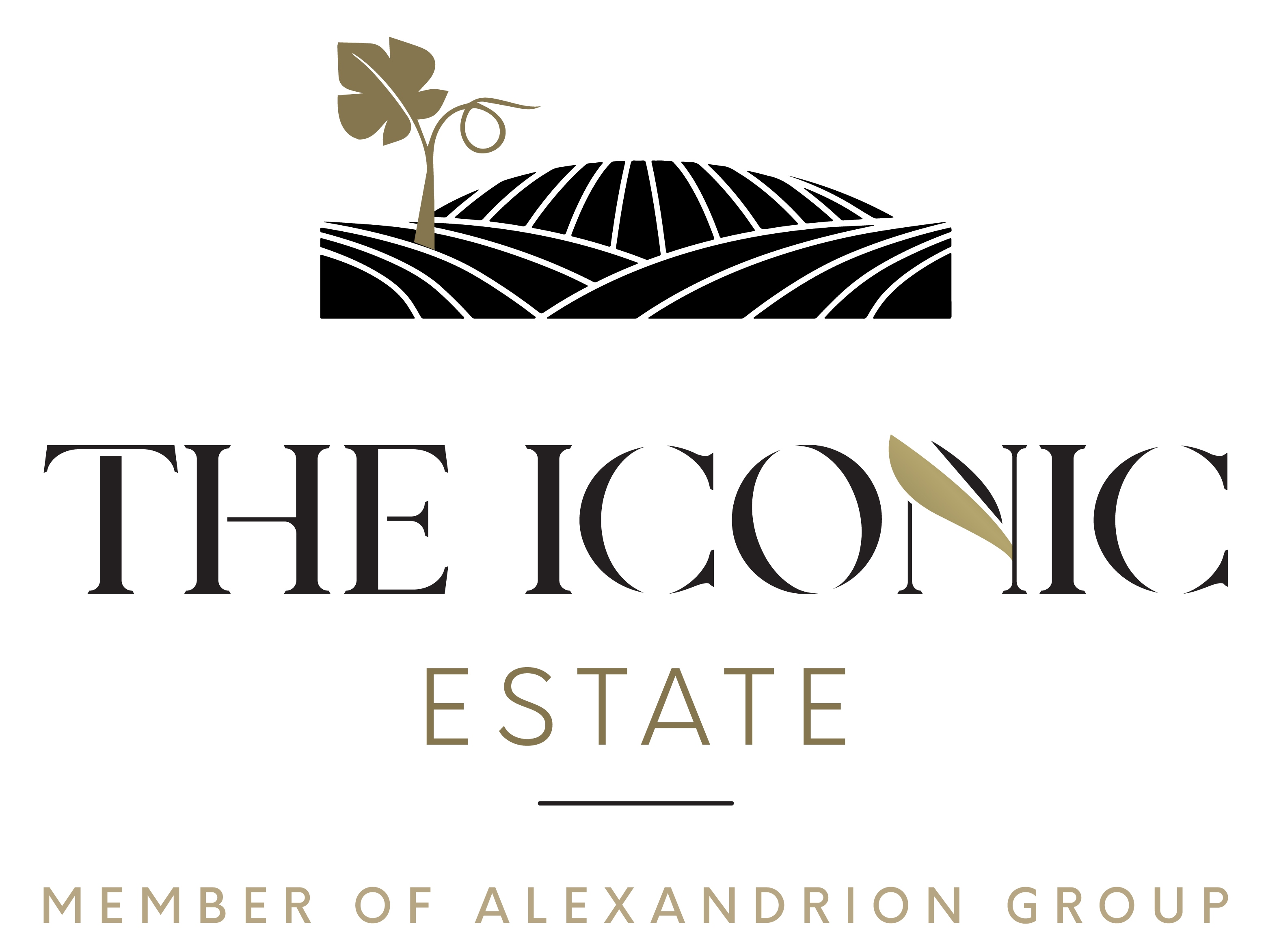 the iconic estate logo
