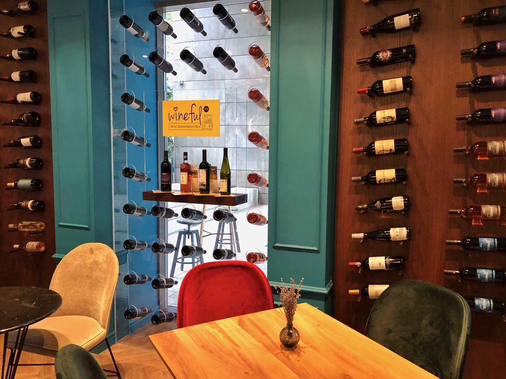 wineful wine bar bucharest