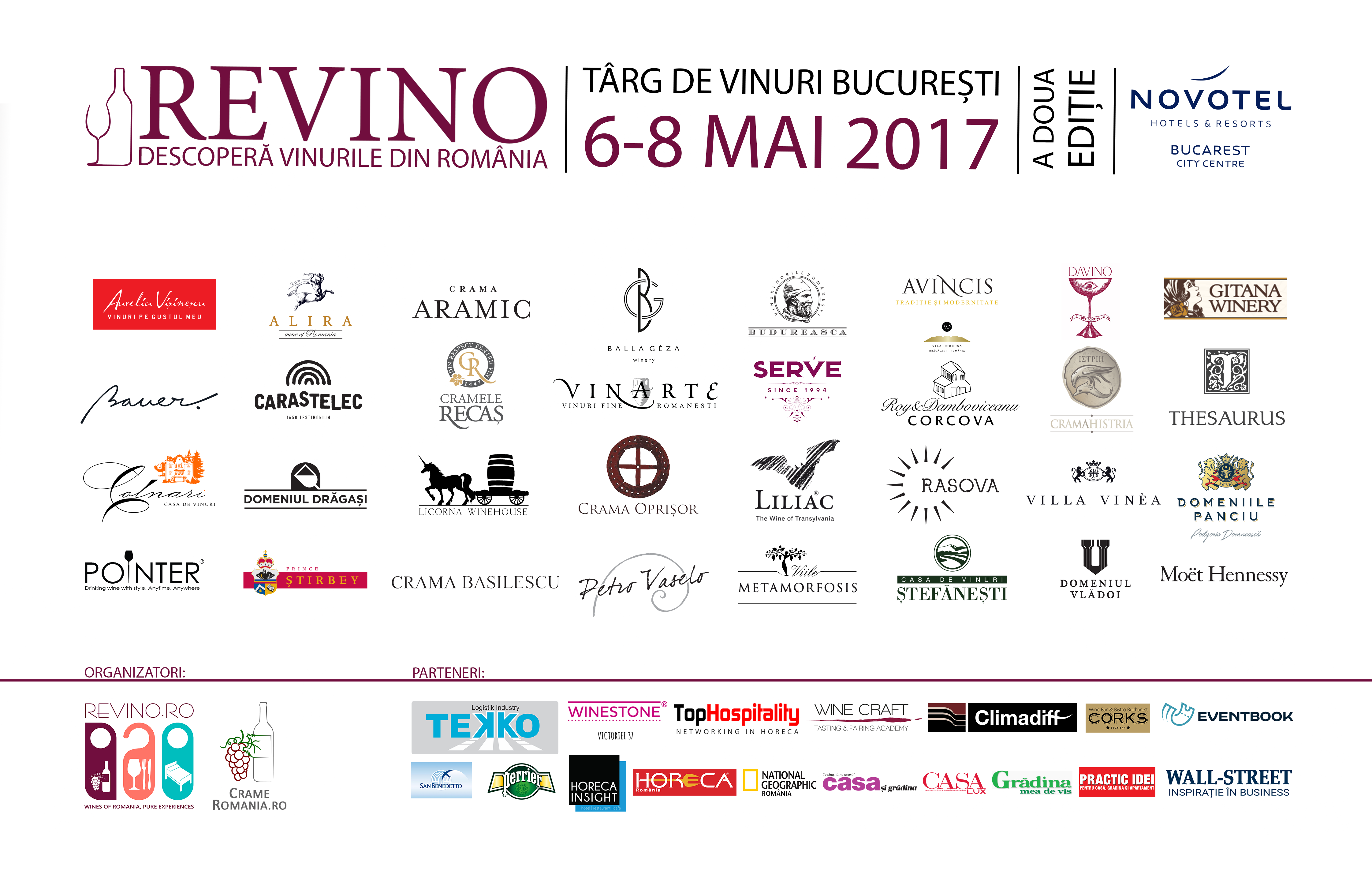 Expozanti ReVino Wine Fair 2017 Logo